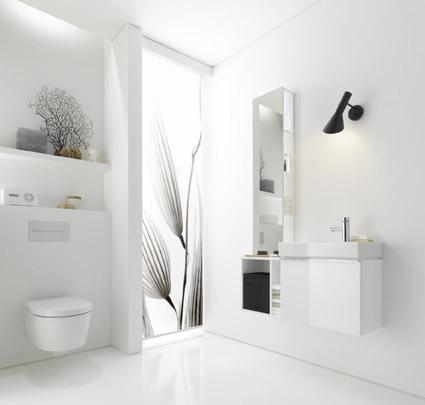 neues g ste wc viel komfort auf kleinem raum. Black Bedroom Furniture Sets. Home Design Ideas
